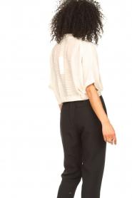 Aaiko   Transparante blouse Tanissa   naturel    Afbeelding 7