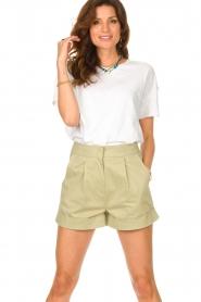 American Vintage |  Cotton T-shirt Sonoma | white  | Picture 4