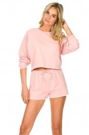 American Vintage |  Sweatshort Lifboo | pink  | Picture 2