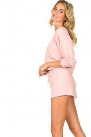 American Vintage |  Sweatshort Lifboo | pink  | Picture 5