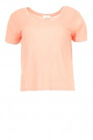 American Vintage |  Short cotton sweater Gabyshoo | pink  | Picture 1