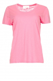 American Vintage |  Basic T-shirt with round neck Jacksonville | pink  | Picture 1