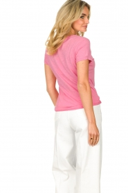 American Vintage |  Basic T-shirt with round neck Jacksonville | pink  | Picture 6