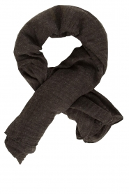 American Vintage |  Soft scarf Fati | charcoal  | Picture 1