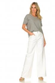 American Vintage |  Cotton T-shirt Sonoma | grey  | Picture 3