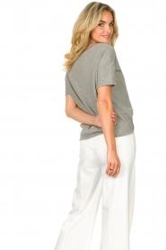 American Vintage |  Cotton T-shirt Sonoma | grey  | Picture 7