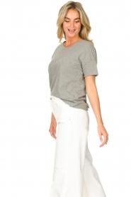 American Vintage |  Cotton T-shirt Sonoma | grey  | Picture 5