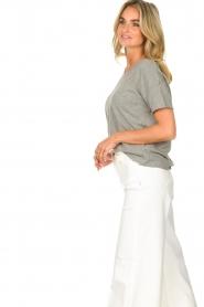 American Vintage |  Cotton T-shirt Sonoma | grey  | Picture 6