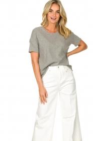 American Vintage |  Cotton T-shirt Sonoma | grey  | Picture 4
