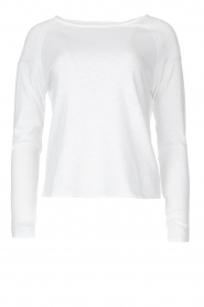 American Vintage |  Basic cotton T-shirt Sonoma | white  | Picture 1