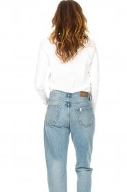 American Vintage |  Basic cotton T-shirt Sonoma | white  | Picture 6