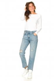 American Vintage |  Basic cotton T-shirt Sonoma | white  | Picture 3