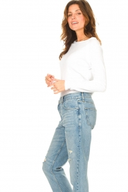 American Vintage |  Basic cotton T-shirt Sonoma | white  | Picture 5