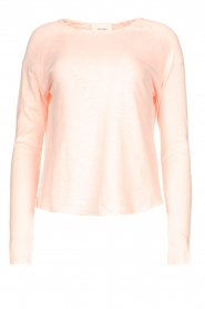 American Vintage |  Basic cotton T-shirt Sonoma | pink  | Picture 1
