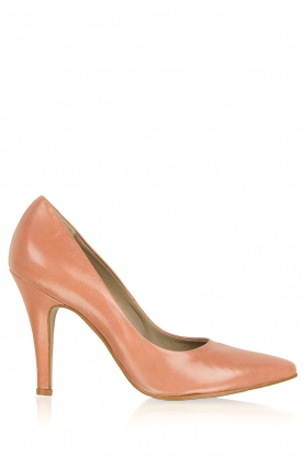 Noe | Leather pumps Nicole | nude