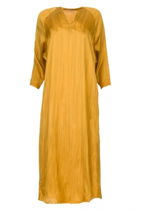 Rabens Saloner | Wide maxi dress Bole | gold