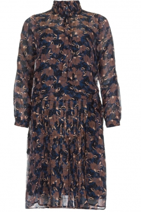 Munthe |  Floral dress Nirvana | blue