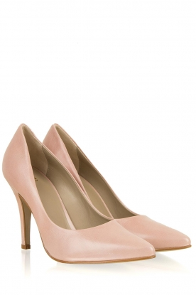 Noe | Leather pumps Nicole | pink