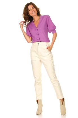 Look Paperbag jeans Sisley