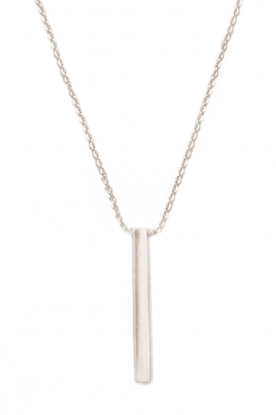 Touchable | Gold necklace Tube | white gold