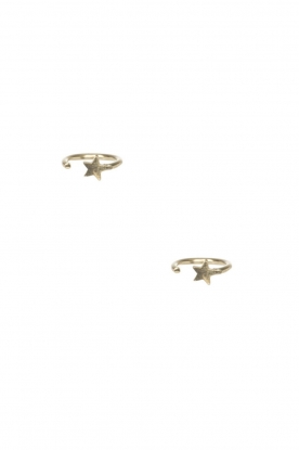 14k plated gold earrings Ring Star | gold