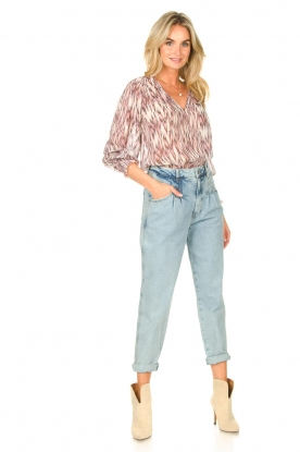 Look Top with print Kali