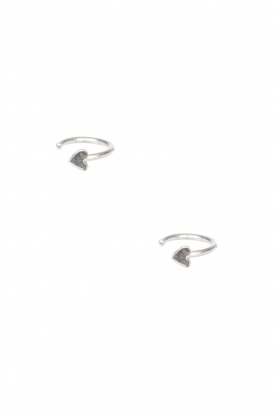 925 sterling silver earrings Ring Heart | silver