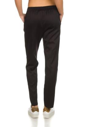 Munthe   Tweekleurige broek Norma   zwart