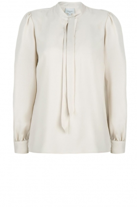 Dante 6 |  Blouse with bow Cuzco | beige