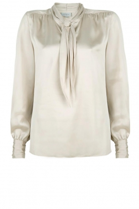 Dante 6 |  Blouse with bow Rodeo | beige