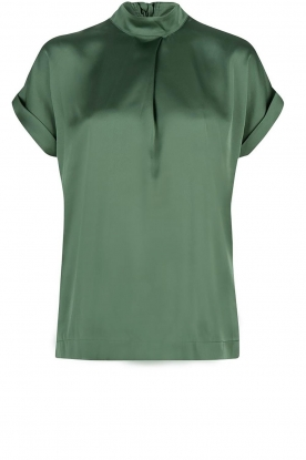 Dante 6 |  Shiny blouse | green
