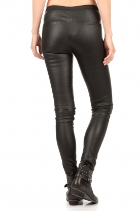 Lamb leather legging Lexis | black