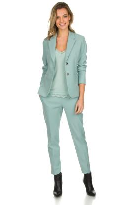 Set | Klassieke blazer Sue | blauw