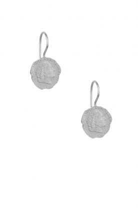 Betty Bogaers | 925 sterling zilver oorbellen Ten cent | Zilver