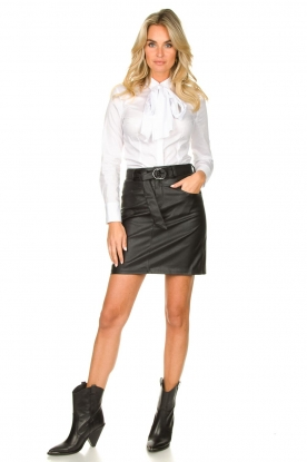 Look Blouse with bow detail Fama