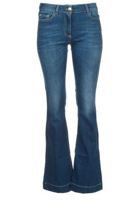Nenette | Flared jeans Sentinel | blauw