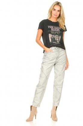 Look Katoenen T-shirt met opdruk Karina