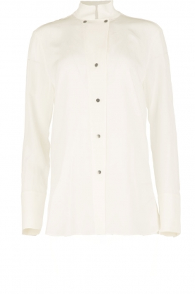 By Malene Birger | Zijden blouse Verao | wit