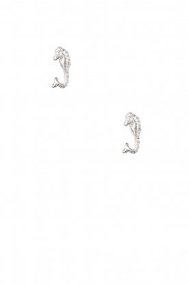 925 sterling silver earrings Seahorse | silver