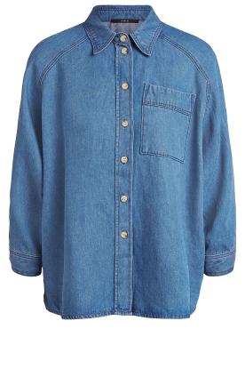 Set |  Denim shirt Ally | blue
