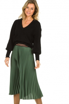 Dante 6 |  Midi pleated skirt Eyo | green