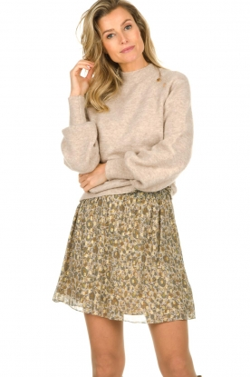 Dante 6 |  Skirt with lurex Franni | beige
