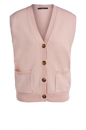 Set |  Spencer with pockets Teddy | pink