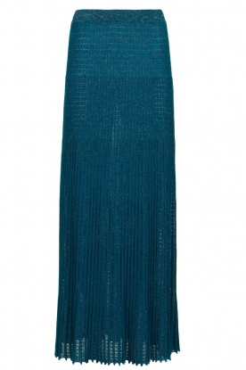 Patrizia Pepe |  Pleated skirt Dede | blue