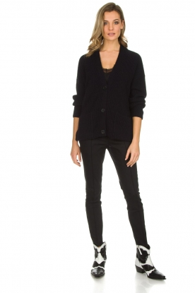 Set | Klassieke pantalon Gina | zwart