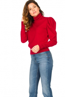 Kocca | Turtle neck Dawn | red