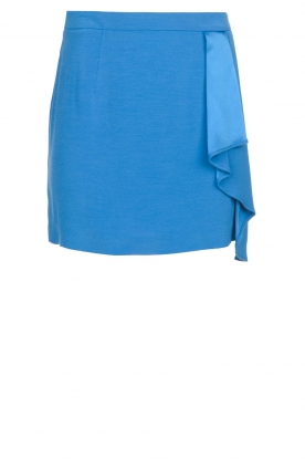 Patrizia Pepe |  Mini skirt Zara | blue