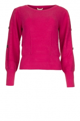 Kocca | Sweater with sleeve details | pink