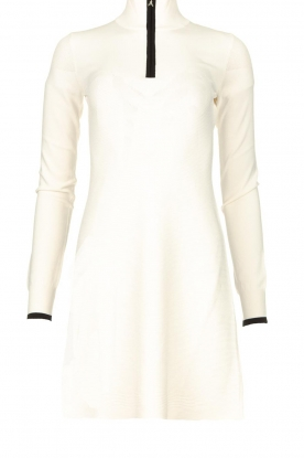 Patrizia Pepe | Turtleneck dress Lisanne | natural