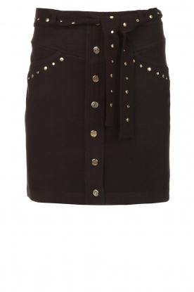Kocca | Studded skirt Plyn | black
